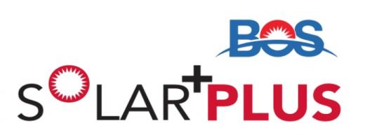 BOS Solar + Plus logo